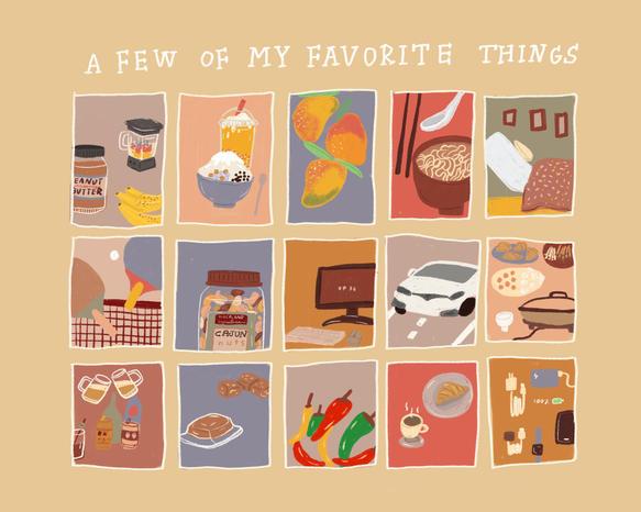 favorite things poster