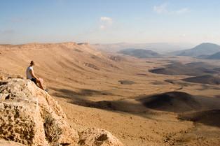 Blick auf die Wüste