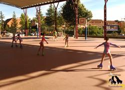 club patinaje Torrelodones payasos