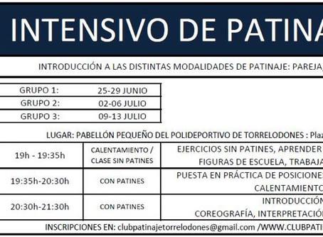 INTENSIVO DE PATINAJE