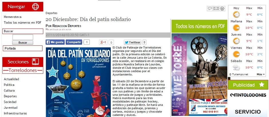 Publicación web ViveTorre