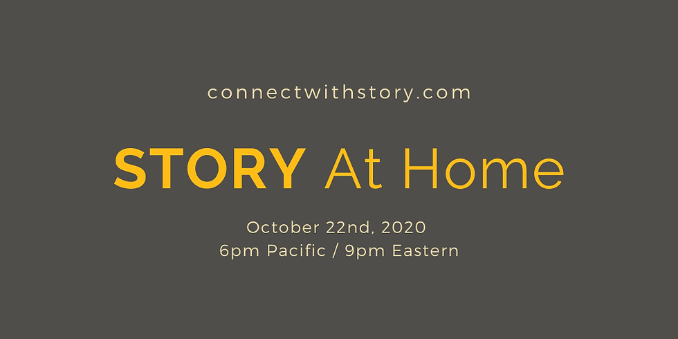 STORY at Home: October 22nd
