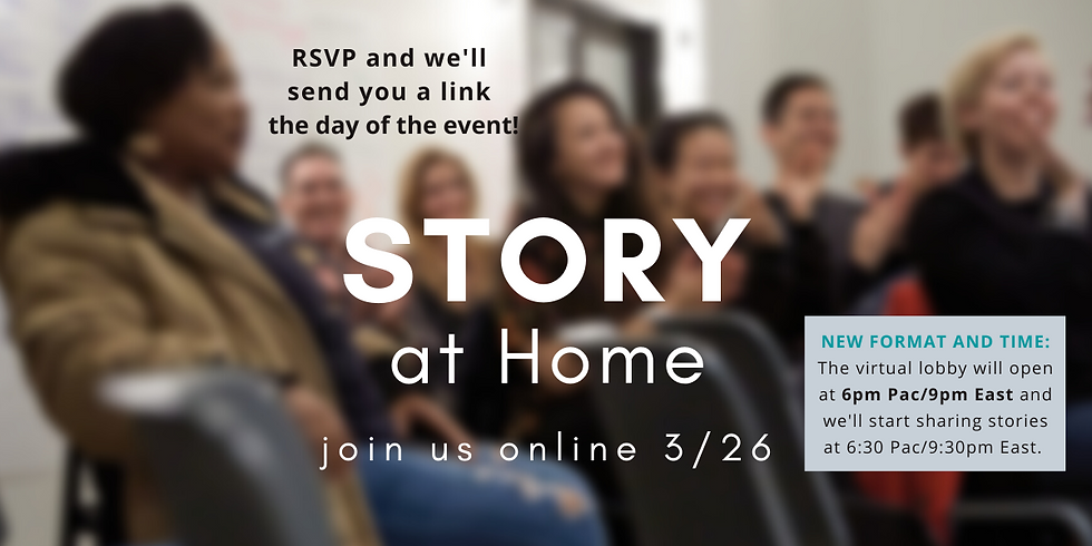 STORY at Home:  March 26th