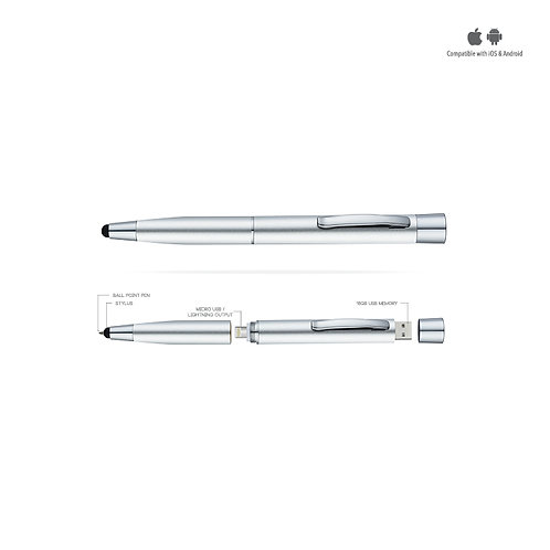 STYLUS POWER PEN WITH MEMORY