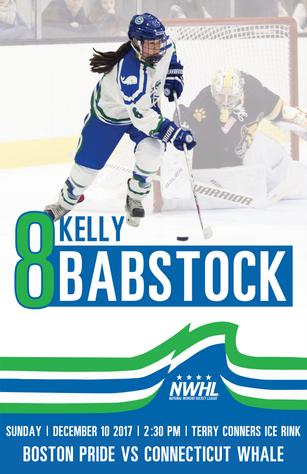 NWHL - Kelly Babstock
