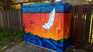 Cabinet art is spreading further in Auckland