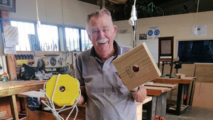 Boomer Shed members create playground activities for low-decile schools