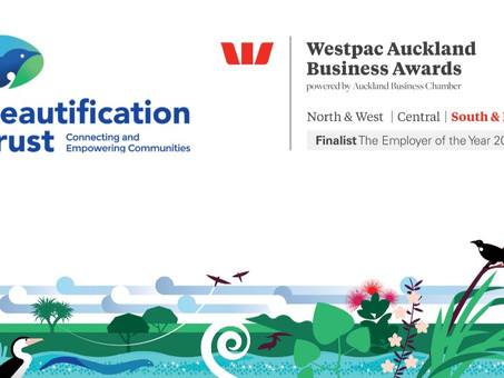 Beautification Trust named as finalist for The Employer of the Year 2021