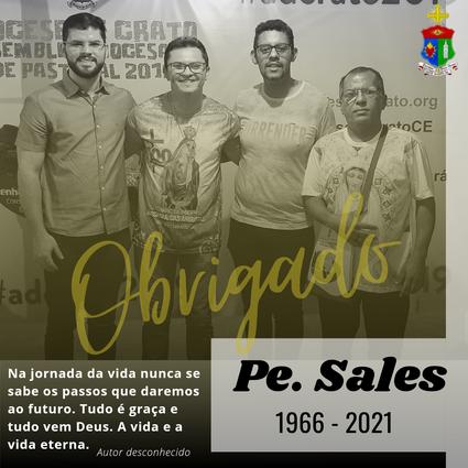 NOTA DE CONDOLÊNCIAS PELO FALECIMENTO DO PE. FRANCISCO DE SALES PEREIRA