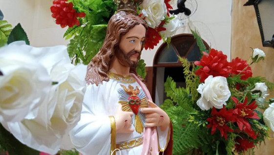 """""""FAZEI QUE VOS AME CADA VEZ MAIS."""" PARÓQUIA CELEBRA SOLENIDADE DO CORAÇÃO DE JESUS"""