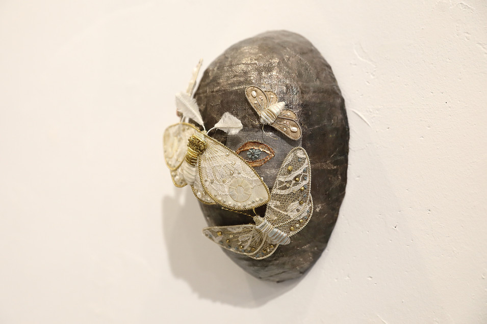 mask -silver-