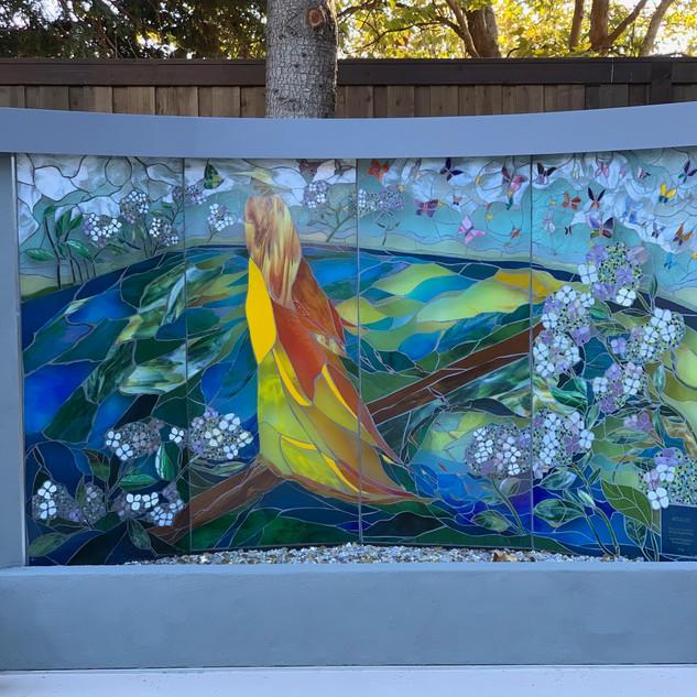 Judy Sousa Mosaic Fountain 2