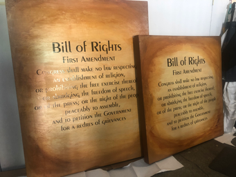 First Amendmant Bill of Rights Installation (1)