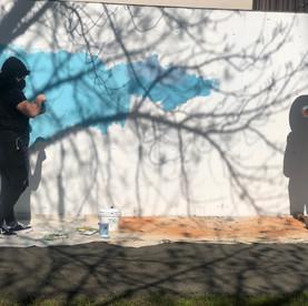 "Casa Grande High School ""Poppies and Pollinators"" Mural"