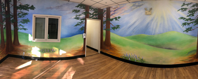 Rohnert Park Senior Center Mural