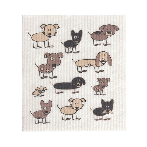 SPONGE CLOTH - Dogs