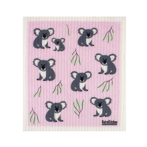 SPONGE CLOTH - Koalas