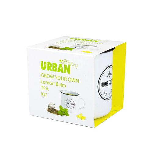 Urban Greens Grow Your Own Lemon Balm Tea Kit