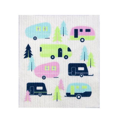 RetroKitchen compostable sponge cloth - Caravans