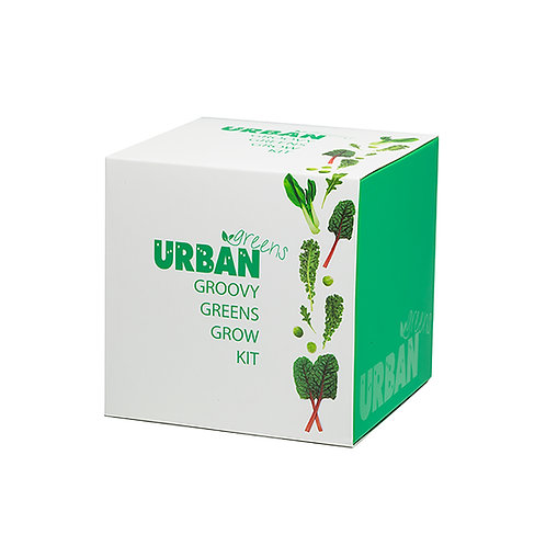 Urban Greens groovy greens grow kit gift box