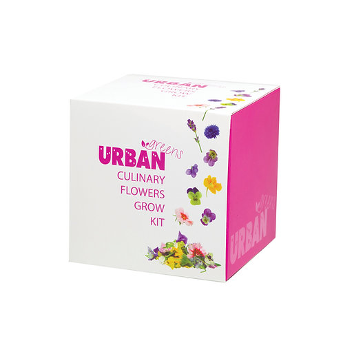 "Urban Greens edible flowers grow kit ""Culinary Flowers"""