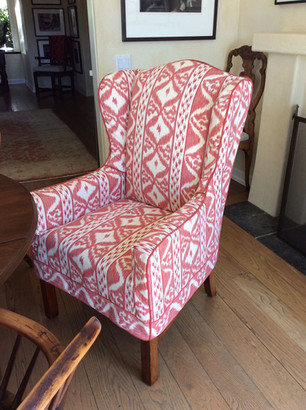 Linen Slipcover with Contrast Welt