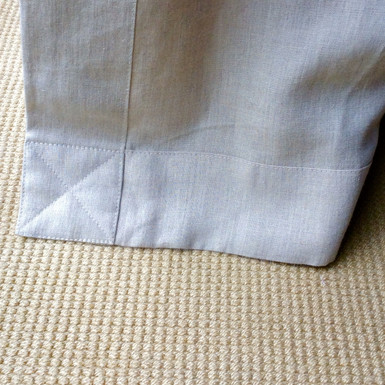 Example of top stitching
