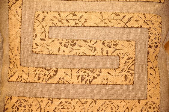 Hand stitched appliques!