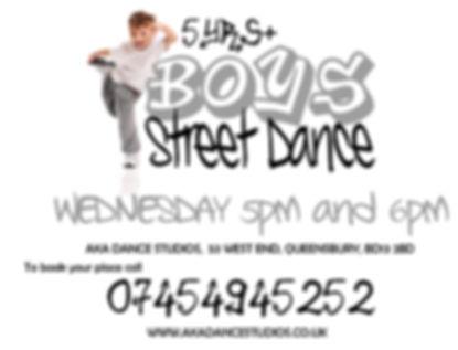 boys street dance halifax