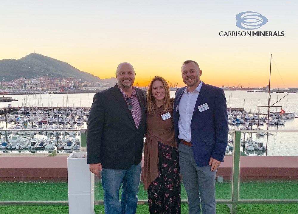 garrison minerals attends magnesia conference in spain