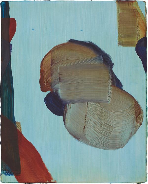 MAS 2019, untitled, oil on wood, 42 x 33