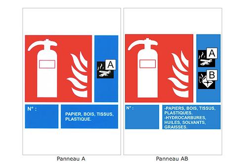 panneau et signalisation incendie BEFPI