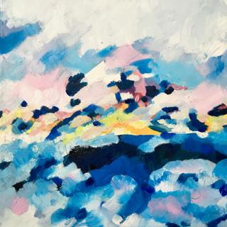Oil on canvas, 30x30cm, 2020