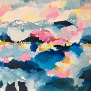 Oil on canvas, 28x35cm, 2020