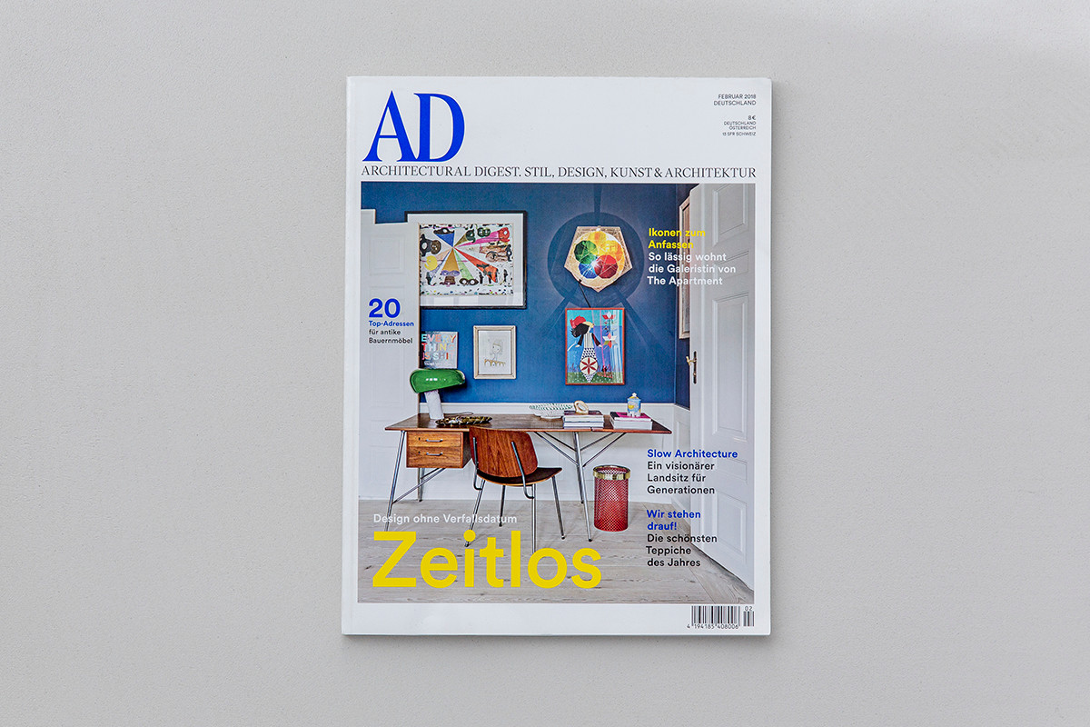 Architectural Digest Germany 2018