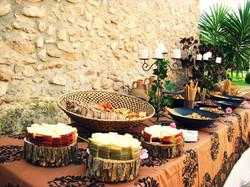 mesa quesos bodas