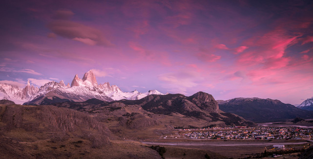 Fitz Roy with El Chalten