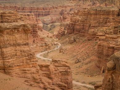 Šaryn - Kazachstánský Grand Canyon