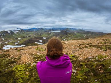 Trek Laugavegur: z duhových hor k vodopádu Skógar