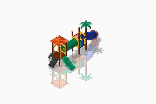 Torre dupla Ilha da Aventura Joy