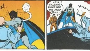 Batman killed in his first issue (and that's okay!)