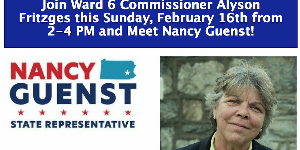 Meet and Greet with Nancy Guenst