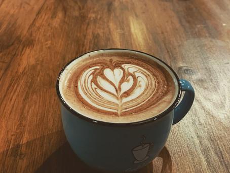 在疫情下的咖啡拉花班