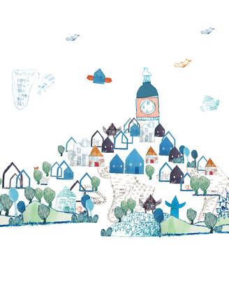 Design for the digital wallpaper