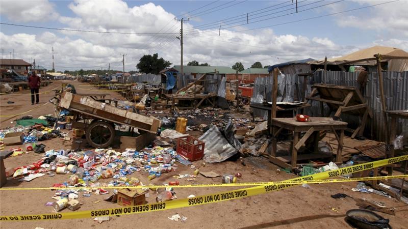 Tripple Suicide Attacks Hit Damaturu