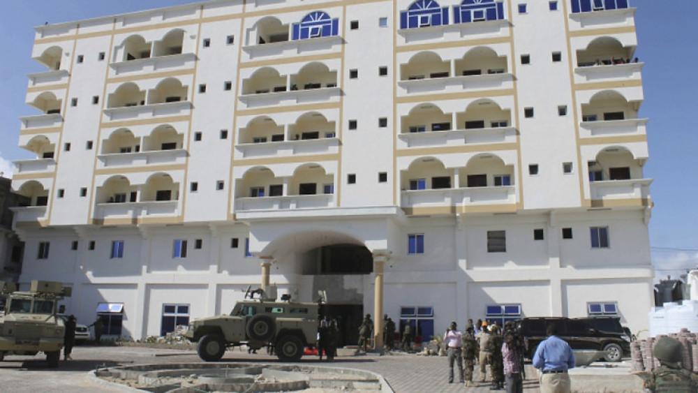 The Jazeera hotel in Mogadishu