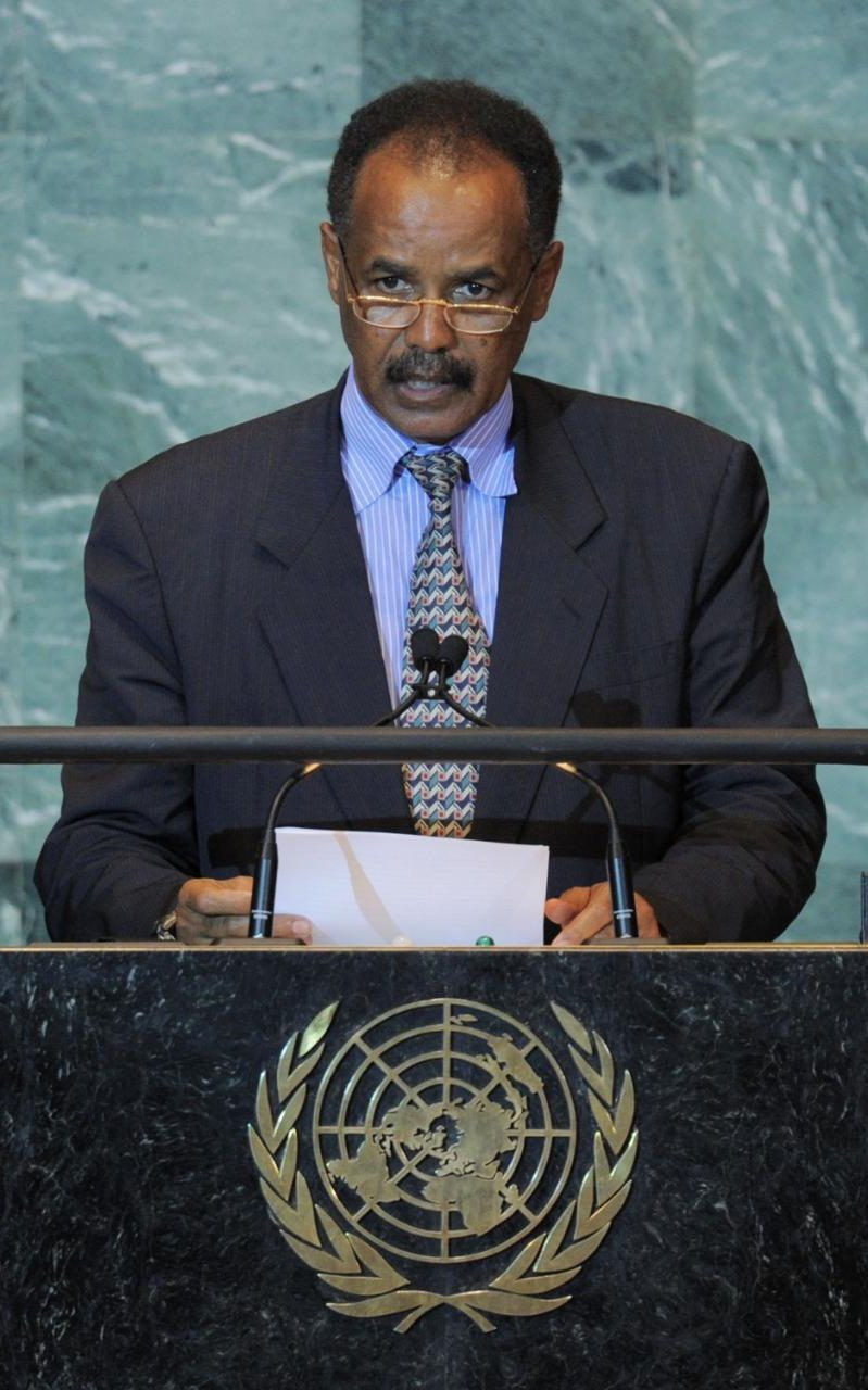 Eritrea's President Isaias Afwerki CREDIT: AFP
