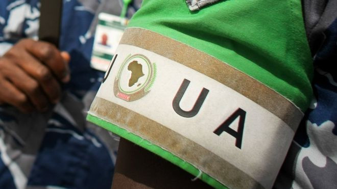 African Union troops in Somalia are supporting the UN-backed government