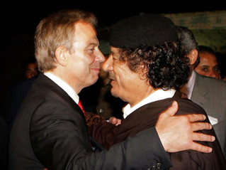Tony Blair 'tried to save Colonel Gaddafi' just before bombing of Libya