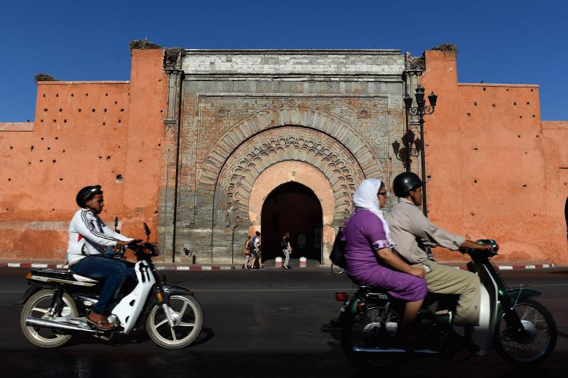 The terror threat in Morocco is a far cry from war-torn Libya. But experts said Morocco is at risk as ISIS looks to expand on Europe's doorstep. In this picture, the Old Gate into the Old Town is seen in Marrakesh, Morocco, on Sept. 12, 2014. PHOTO: CHRISTOPHER LEE/GETTY IMAGES